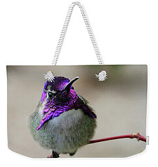 Purple Head Weekender Tote Bag
