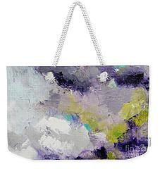 Purple Ice Clouds Weekender Tote Bag by Gallery Messina