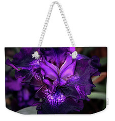 Purple Iris 5994 H_2 Weekender Tote Bag