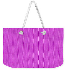 Purple Janca Abstract Panel #1151ew1abrp Weekender Tote Bag