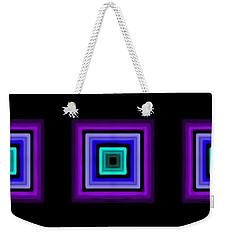 Purple Love Weekender Tote Bag