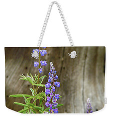 Purple Lupine Weekender Tote Bag
