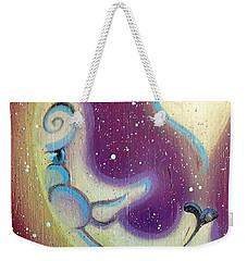 Purple Moon Weekender Tote Bag