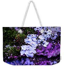 Purple Moss Weekender Tote Bag