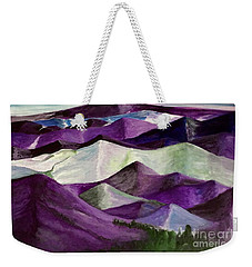 Purple Mountains Majesty Weekender Tote Bag by Kim Nelson