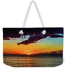 Purple Paints The Orange Weekender Tote Bag