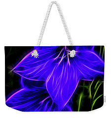 Purple Passion Weekender Tote Bag by Joann Copeland-Paul