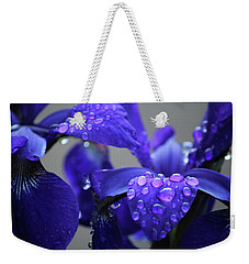 Purple Passion Weekender Tote Bag by Rowana Ray