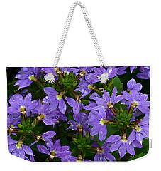 Purple Perspective Weekender Tote Bag by Shari Jardina