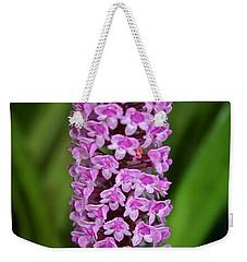 Purple Pillar Weekender Tote Bag