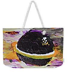 Purple Planet Weekender Tote Bag