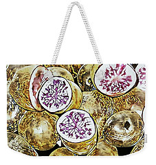 Purple Potatoes Mosaic Style Weekender Tote Bag