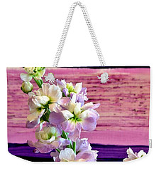 Purple Purple Everywhere Weekender Tote Bag