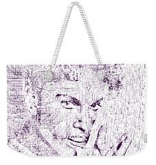 Purple Rain By Prince Weekender Tote Bag