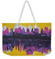 Purple Reflections Weekender Tote Bag
