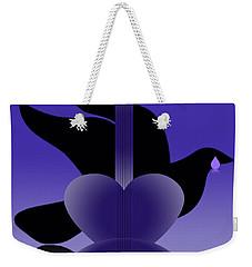 Purple Reign 1958-2016 Weekender Tote Bag