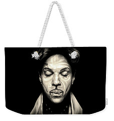 Purple Reign Weekender Tote Bag by Fred Larucci