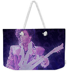 Purple Reign Weekender Tote Bag
