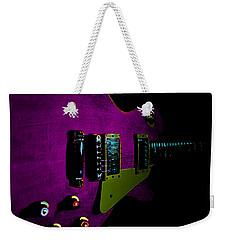 Purple Relic Les Paul II Hover Series Weekender Tote Bag