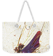 Purple Seaweed In Pacific Grove California Weekender Tote Bag