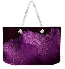 Purple Showy Prairie Gertain Weekender Tote Bag