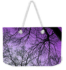 Purple Sky Weekender Tote Bag