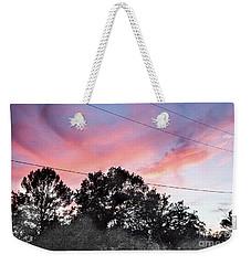 Purple Sky Weekender Tote Bag