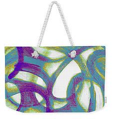 Purple Soul Weekender Tote Bag