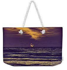 Purple Sunrise Weekender Tote Bag