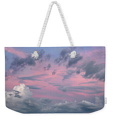 Purple Sunrise Weekender Tote Bag by Tim Fitzharris