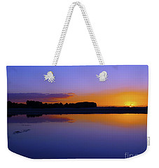 Purple Sunrise Weekender Tote Bag