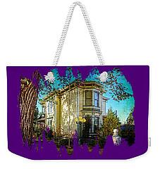 House With The Purple Swing Weekender Tote Bag