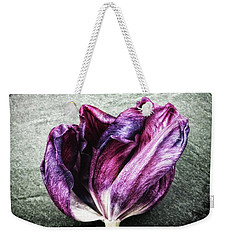 Purple Swirl Weekender Tote Bag
