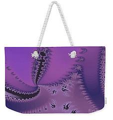 Purple Twilight Weekender Tote Bag