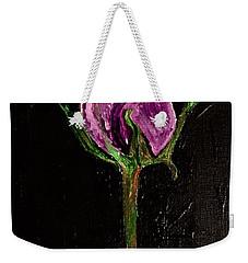 Purple Under The Moon's Glow Weekender Tote Bag