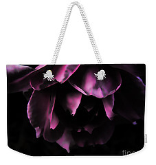 Purple Velvet Rose Weekender Tote Bag by Kevin J McGraw