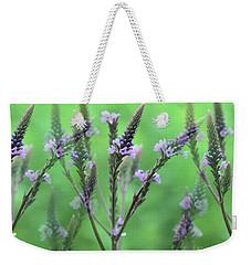 Purple Vervain Dreams Weekender Tote Bag