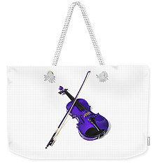 Purple Violin Weekender Tote Bag