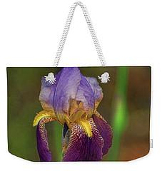 Purplish Iris Weekender Tote Bag