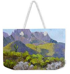 Pusch Ridge II Weekender Tote Bag by Susan Woodward