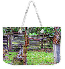 Push Weekender Tote Bag