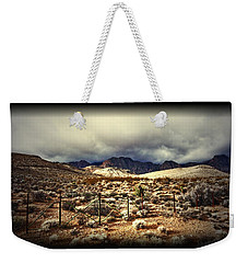 Push Weekender Tote Bag by Mark Ross