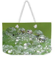 Morning Drops Weekender Tote Bag by Kim Tran