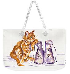Puss 'n Boots Weekender Tote Bag