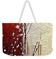 Pussy Willow Corner Weekender Tote Bag