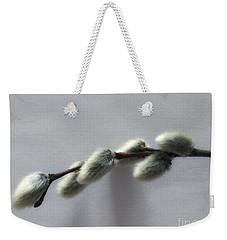 Pussy Willow Weekender Tote Bag