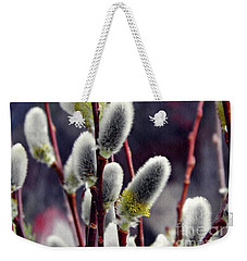 Pussy Willow Spring  Weekender Tote Bag by Sarah Loft