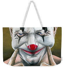 Put On A Happy Face Weekender Tote Bag