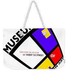 Putting On De Stijl Weekender Tote Bag