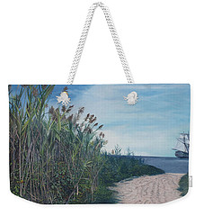 Putting Out To Sea Weekender Tote Bag